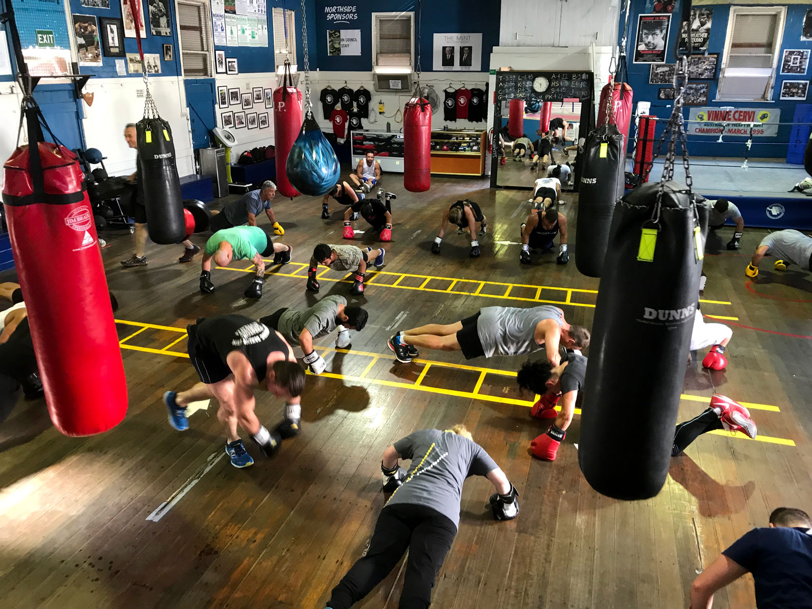 Northside Boxing Gym Class