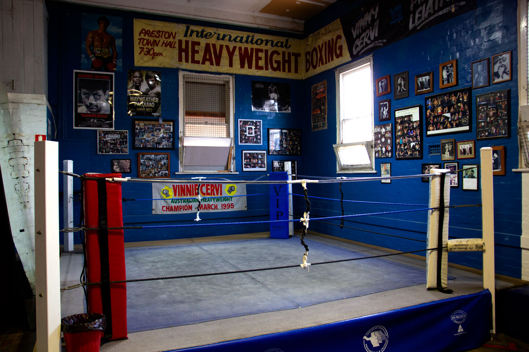 Northside Boxing Gym Ring